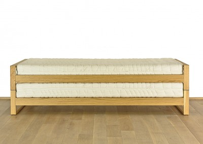 Hinged double bed