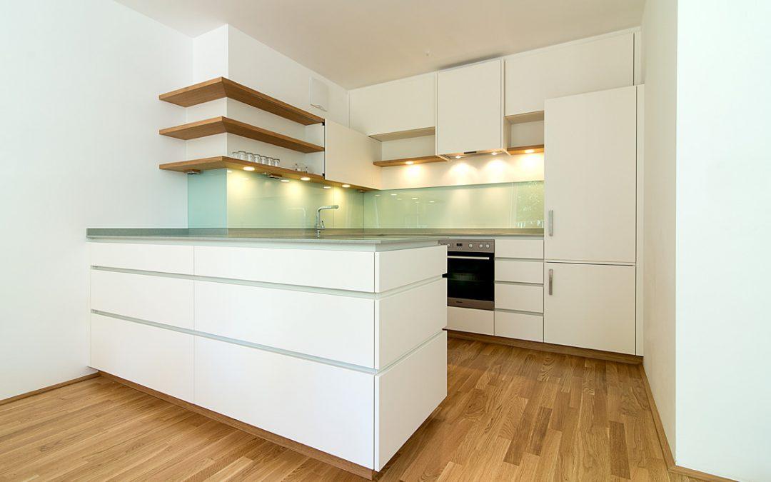 Einbauküche in Color