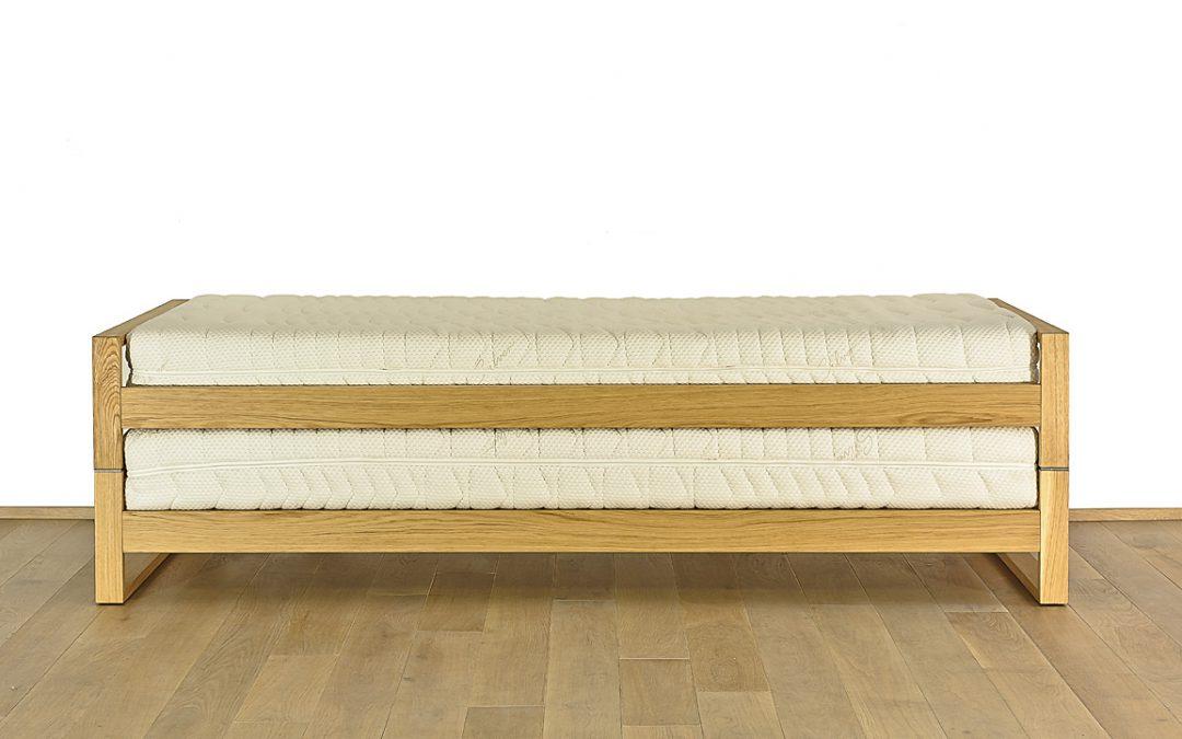 Aufklappbares Doppelbett