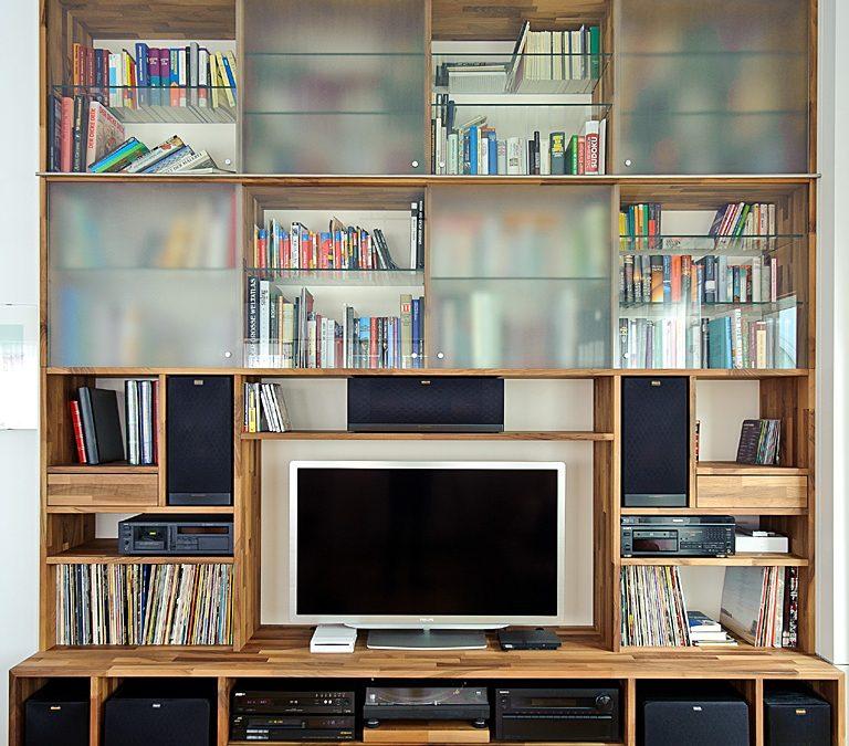 HIFI- und Bücherlösung
